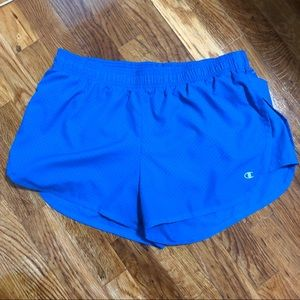 Champion | Royal Blue Work-out Shorts